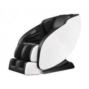NRG Wellness Deluxe elektrische massagestoel - zwart/wit