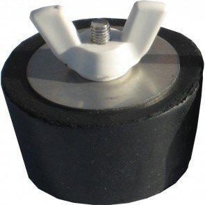 "Rubber overwinteringsplug 1.5"", 1.75"" of 2"""