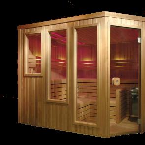 VSB Finse Sauna, Prestige 250 x 210