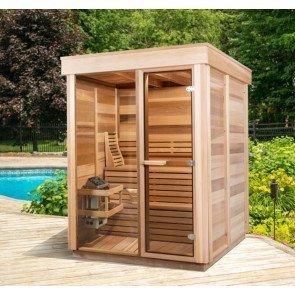 Pure Cube Outdoor Sauna 173 x 173 cm