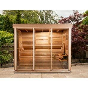 Pure Cube Outdoor Sauna 173 x 254 cm