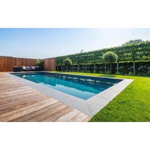 Bouwkundig zwembad 1000 x 400 x 150 cm - inclusief aanleg
