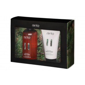 Rento cadeauset - Arctic Pine bodywash en sauna honey