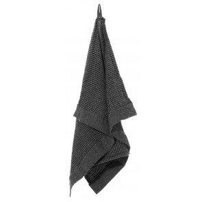 Rento Kenno sauna handdoek 50 x 70 cm - zwart/grijs