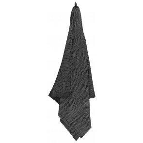 Rento Kenno sauna handdoek 90 x 180 cm - zwart/grijs