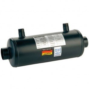Behncke warmtewisselaar - model QWT 100-209 RVS