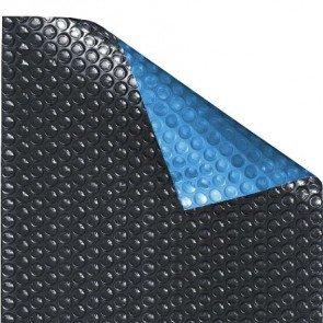 Zwart Blauw solar Quatro zomerzeil noppenfolie 500 micron