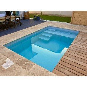 Plunge Pool Santorini 400 x 250 x 125 cm
