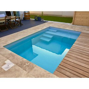 Plunge Pool Santorini 500 x 300 x 125 cm