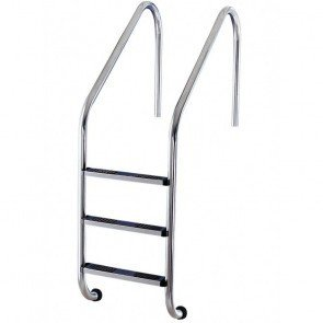 316 RVS Zwembad Ladder 3 Treden