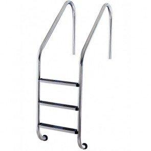 RVS Zwembad Ladder 3 Treden Anti-Slip