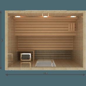 VSB Finse Sauna, Balance 210 x 155