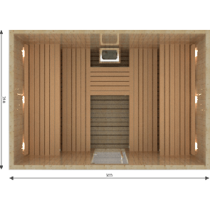 VSB Finse Sauna, Royal 300 x 210
