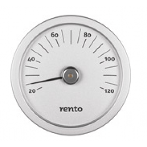 Rento sauna thermometer (zilver)