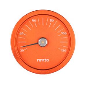 Rento sauna thermometer (oranje)