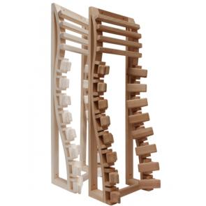 Reunleuning sauna, ergonomisch