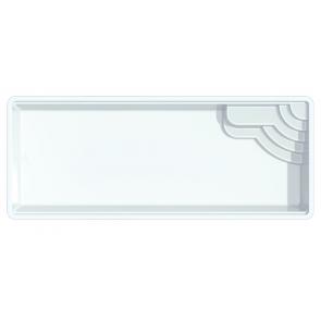 Polyester zwembad Menorca 800 x 330 x 153 cm