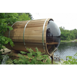 Dundalk Barrel Sauna 188 x 244 Clear Red Cedar