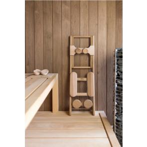 HaLu Rugsteun sauna Backrest Espen met Hoofdsteun