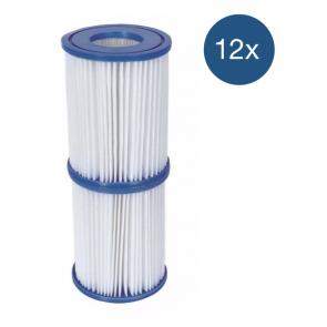 Bestway Filter Type 2 - voordeelverpakking (12 stuks)