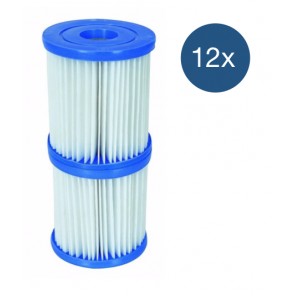 Bestway Filter Type 1 - voordeelverpakking (12 stuks)