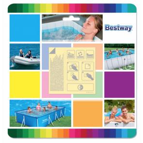Bestway reparatieset - onder water