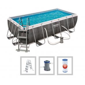 Bestway Mistral zwembad (404 x 201 x 100 cm) - rotan