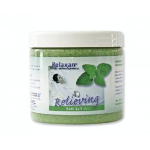 Relaxan dode zee badzout - mint (250 gram)
