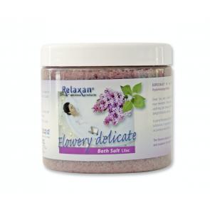 Relaxan dode zee badzout - lilac (250 gram)