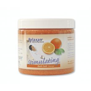 Relaxan dode zee badzout - sinaasappel (250 gram)