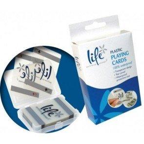 Spa Life Plastic Kaartspel