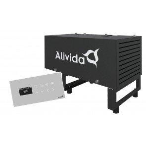 Alivida Steam 3 stoomgenerator tot 3 m3 met bedienpaneel