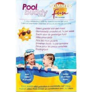 Summer Fun pool buddy tegen gladde wanden