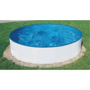Summer Fun Sark stalen zwembad - 350 x 90 cm (grijs)