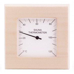 Basic sauna thermometer vierkant - Espen