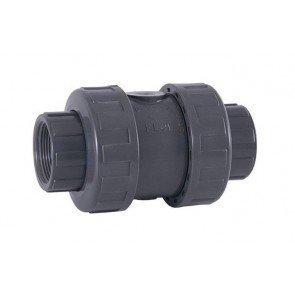 PVC terugslagklep met veer 50 mm (lijmverbinding)