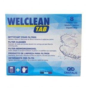 Welclean filterreiniger 8 tabletten