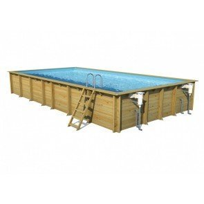 Cerland Weva Houten Zwembad Rectangle 8x4