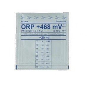 470 mV ORP kalibratievloeistof (6 zakjes)