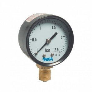 Manometer voor zandfilters 0 - 2,5 bar
