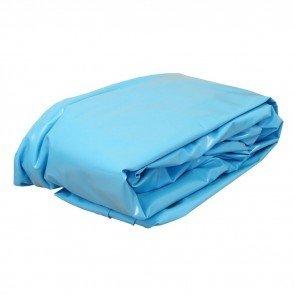 Gre zwembad liner ovaal 1000 x 550 cm (0,4 mm) - blauw