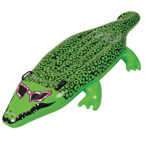 Afbeelding van Opblaasbare grote krokodil