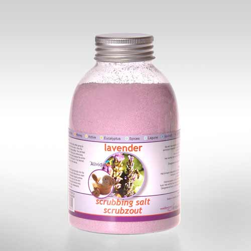 Afbeelding van Scrubzout Lavender 500 ml
