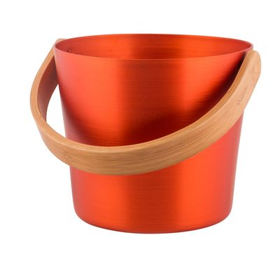 Afbeelding van Rento sauna emmer 5L Aluminium Oranje