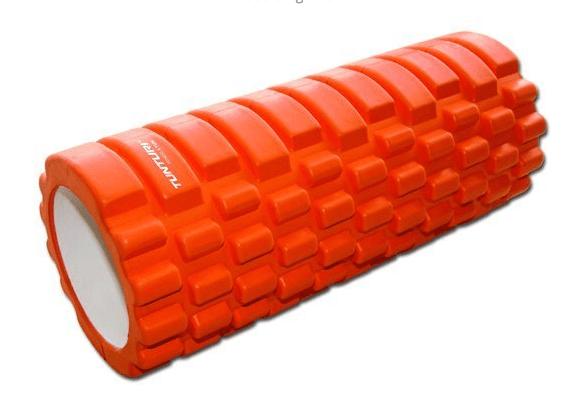 Afbeelding van Tunturi Yoga Grid Foam Roller 33cm Oranje