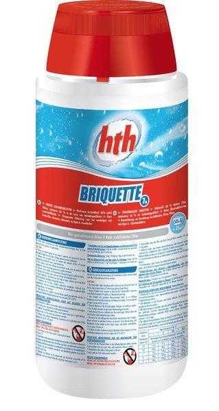Afbeelding van HTH 7 grams zwembad chloortabletten 2,5 kg