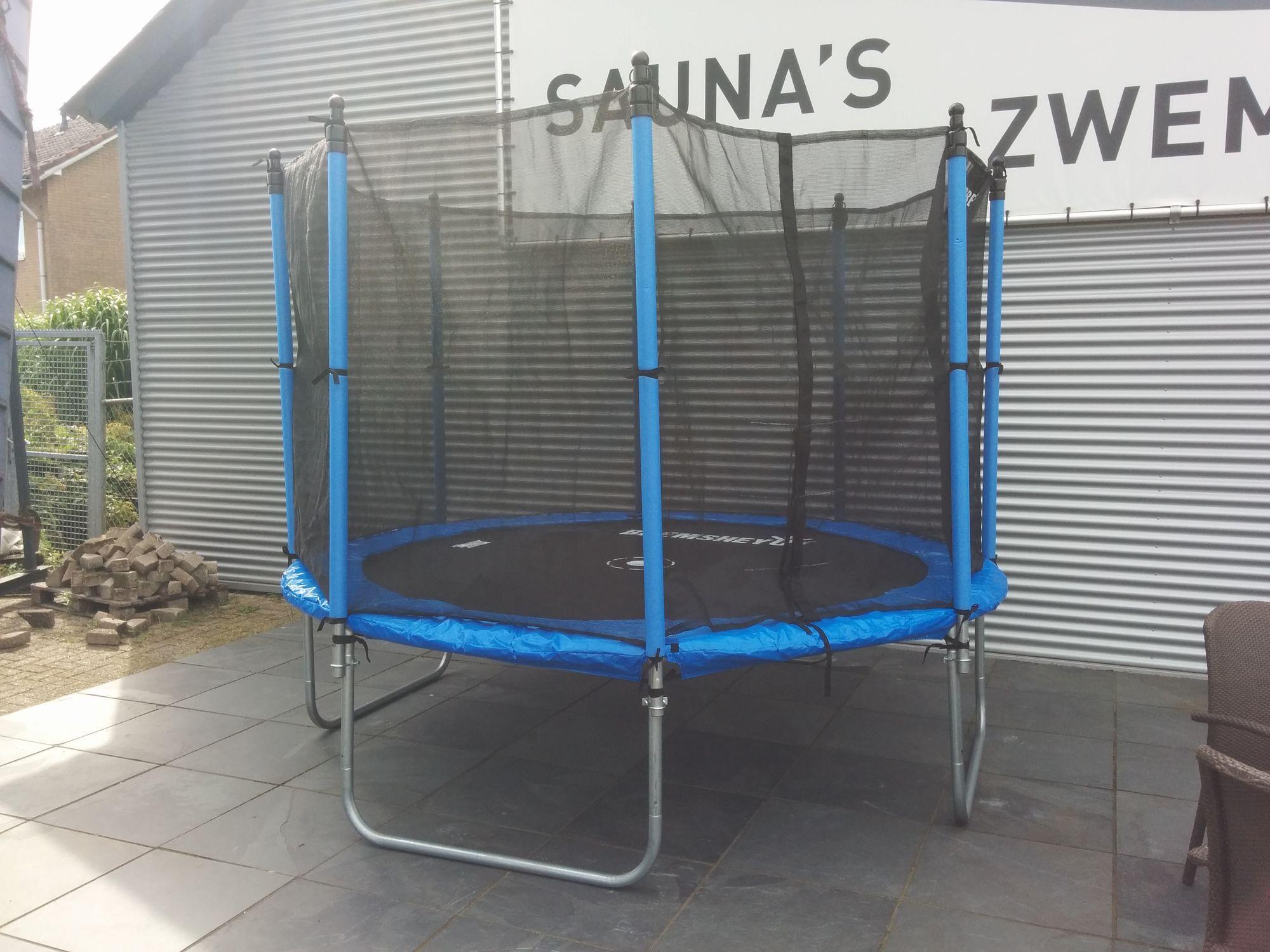 Afbeelding van Bremshey Funhop Trampoline Ø 3 meter - Showmodel - Nieuw uit doos