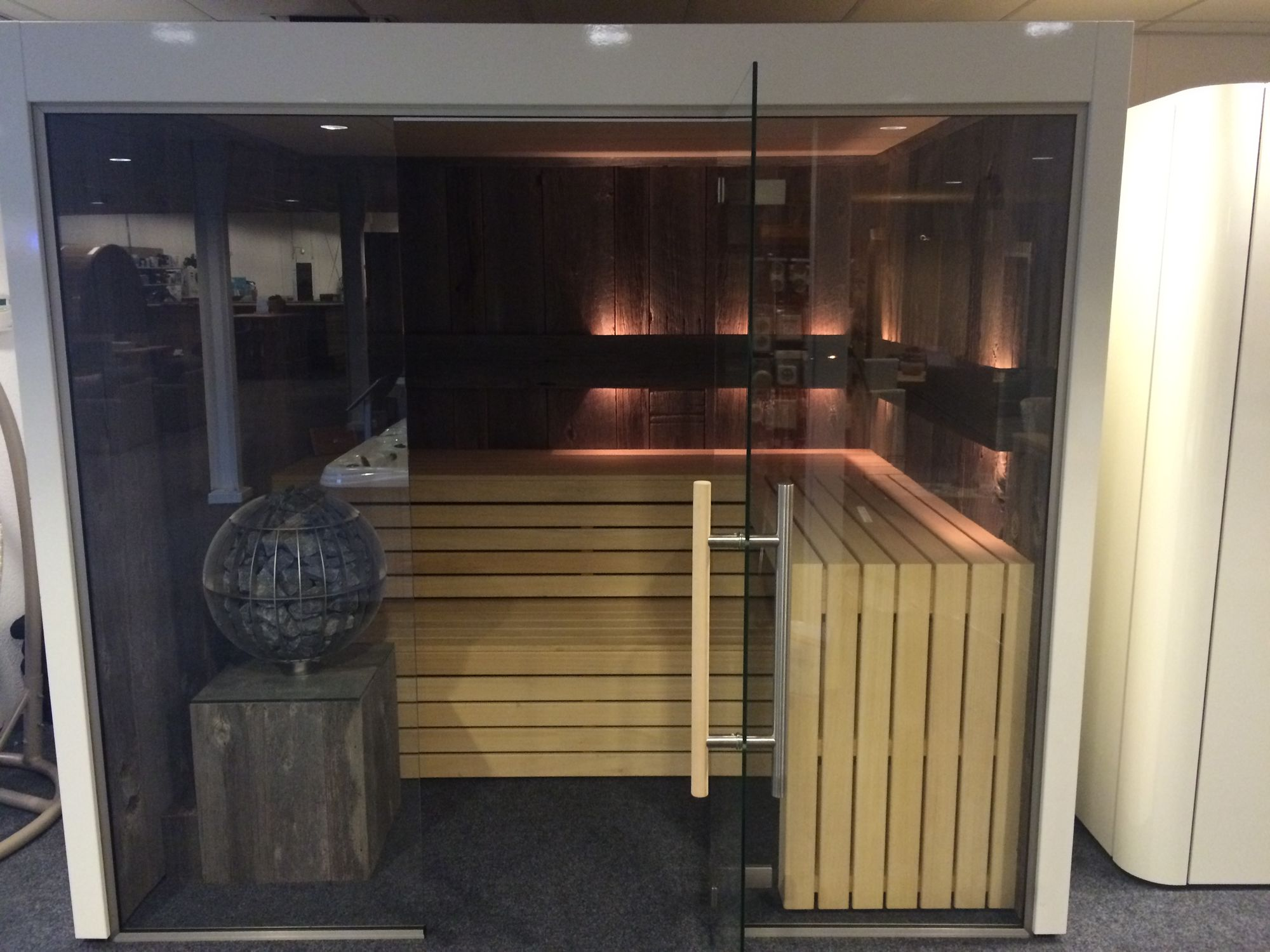 Afbeelding van VSB Sauna Cabine Royal 250 x 210 x 222cm Showmodel