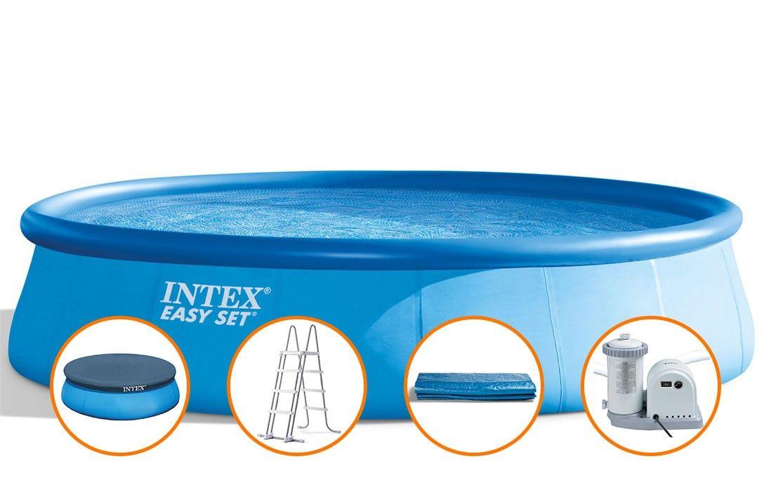 Afbeelding van Intex Easy Set 450 x 106 cm (incl. accessoires + zandfilter)