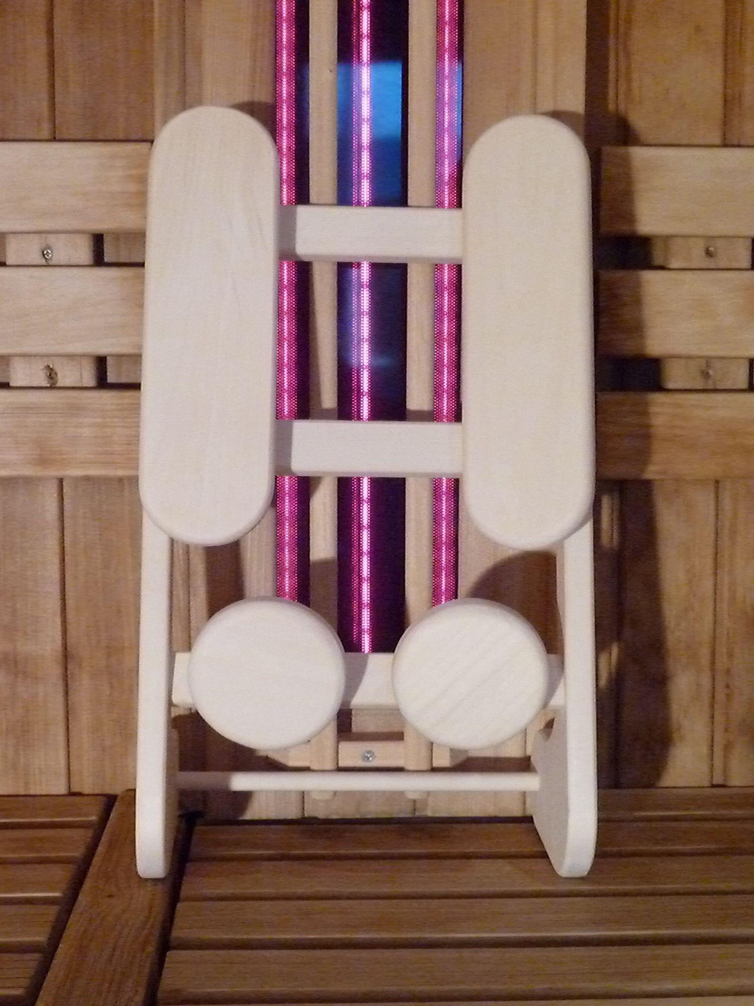 Afbeelding van HaLu Rugsteun sauna Backrest Espen